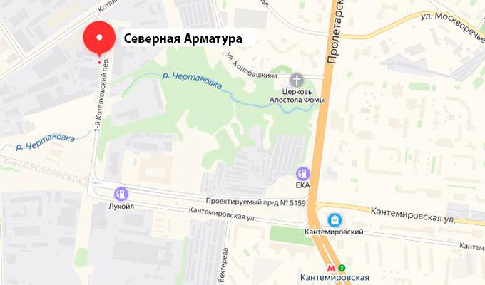 Схема проезда в Москве